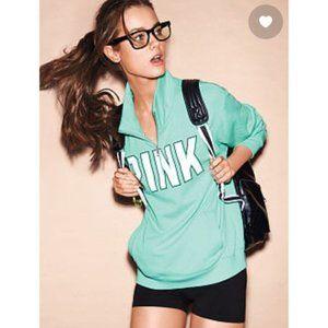 Like new! VS Half Zip Boyfriend Sweatshirt